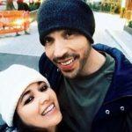 Narayani Shastri with her Husband Tony