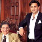 Natasha Poonawalla's Husband Adar With His Father Dr Cyrus Poonawala
