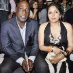 Neena Gupta with Viv Richards