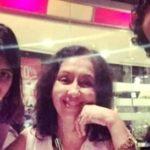 Neena Kulkarni with her children