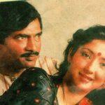 Neena Kulkarni with her husband Dilip Kulkarni