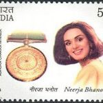 Neerja Bhanot postage stamp