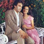 Neerja Bhanot with her husband