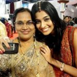 Neha Hinge with her mother