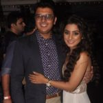 Neha Marda with her husband