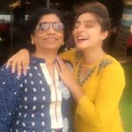 Neha Marda with her mother