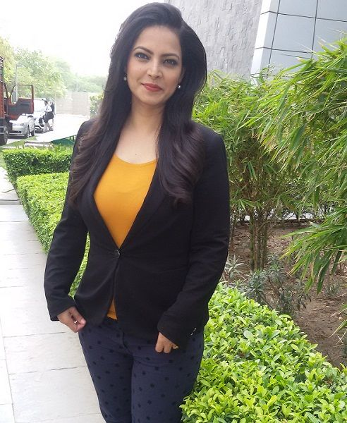 News Anchor Shweta Jha