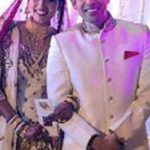 Nigaar Khan with her husband
