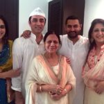 Nikhat Khan with her mother and siblings