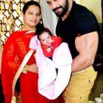 Nirbhay Wadhwa with his wife Preeti Wadhwa and daughter Latini Wadhwa