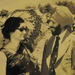 Nirmal Kaur With Milkha Singh
