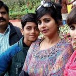 Niveditha Gowda with family