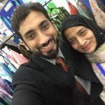 Nouman Ali Khan with his mother