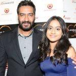Nysa Devgan with her father Ajay Devgan