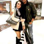 Orvana Ghai with her husband