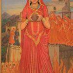 Padmavati Jauhar Self Immolation
