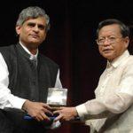 Palagummi Sainath Receiving Ramon Magsaysay Award