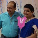 Palak Jain parents