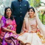 Pallavi Batra with her parents