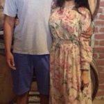 Panchi Bora with her husband