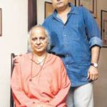 Pandit Jasraj With His Son