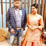 Payal Rohatgi with her brother Gaurav Rohatgi