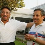Pervez Musharraf With His Younger Brother Naved Musharraf