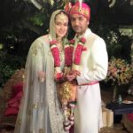 Pia Sodhi with her husband