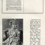 Picture of Sultan Jehan Begum on the Postcard
