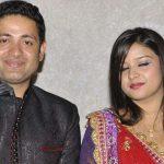 Anubhuti Chauhan with husband Piyush Chawla