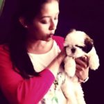 Pooja Jhaveri loves dogs