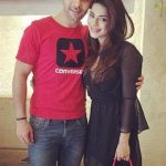Poonam Preet with boyfriend