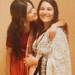 Prachi Bansal with her mother