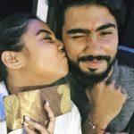 Prajakta Koli with her brother