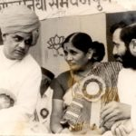 Prakash Javadekar Working With the Former Indian Prime Minister Atal Bihari Vajpayee