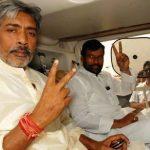 Prakash Jha with Ram Vilas Paswan - Lok Janashakti Party