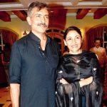 Prakash Jha with his Ex-wife Deepti Naval