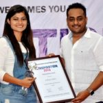 Prakruti Mishra received Young Achiever's Award at The Inspiration Awards 2016