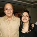 Prem Chopra with Punita Chopra