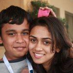 Prerna Wanvari with brother