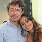 Prerna Wanvari with father