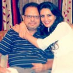 Prianca Sharma with her father
