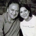 Priya Dutt With Dad 'Sunil Dutt'