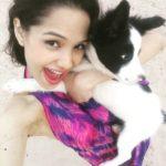 Priyanka Bora Dog Lover