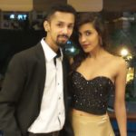 Priyanka Karunakaran with her Boyfriend