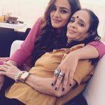 Priyanka Purohit with mother