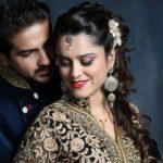 Pushkar Jog with his wife