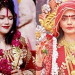 Radhe Maa (left) and Rakhi Vijan (right)