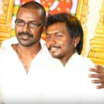 Raghava Lawrence with his brother Elwin