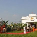 Raghavendra Swami temple build by Raghav Lawrence